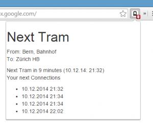 Next Tram Screenshot
